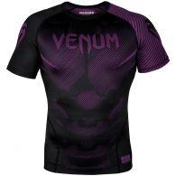 Rashguard Venum NoGi 2.0 - Manches courtes Approuvé IBJJF - Noir/Violet