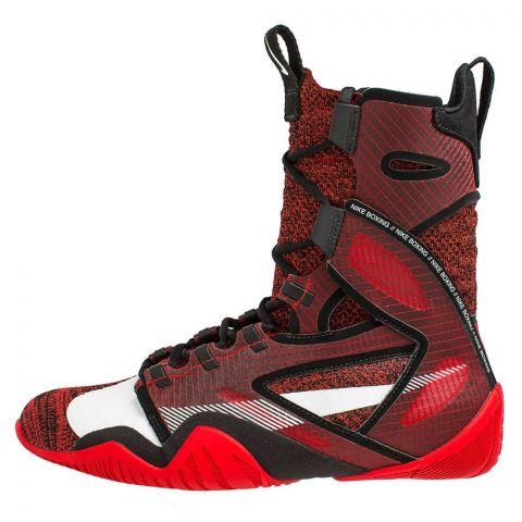 Chaussures de Boxe Nike HyperKO 2 - Rouge/Noir