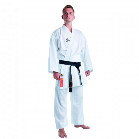 Kimono de Karaté Hayashi Kumite - Blanc - Approuvé WKF