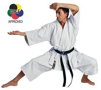Kimono de Karaté Hayashi TENNO  - Blanc - Approuvé WKF