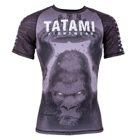 Rashguard Tatami Fight King Kong Manches Courtes