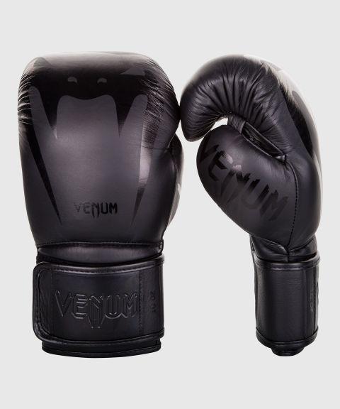 Gants de boxe Venum Giant 3.0 - Cuir Nappa - Noir/Noir