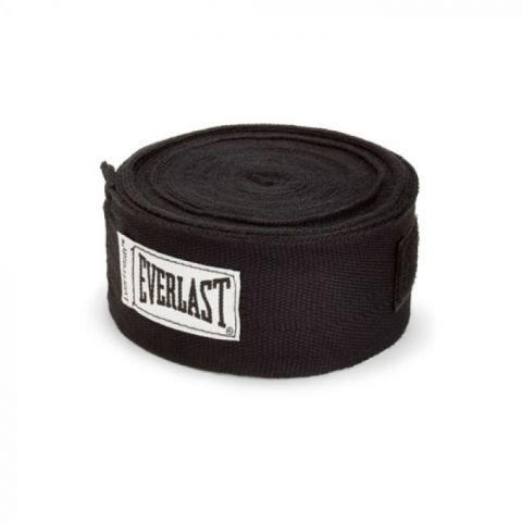 Bandages de Boxe Everlast - 450 cm - Noir
