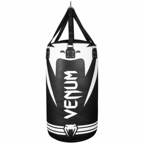 Sac de frappe lourd Venum Hurricane - Noir/Blanc