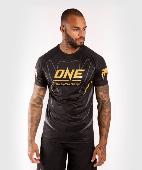 T-shirt Dry Tech Venum x ONE FC - Noir/Or