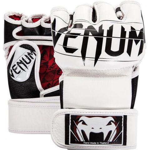 Gants de MMA Venum Undisputed 2.0 - Cuir Nappa - Blanc