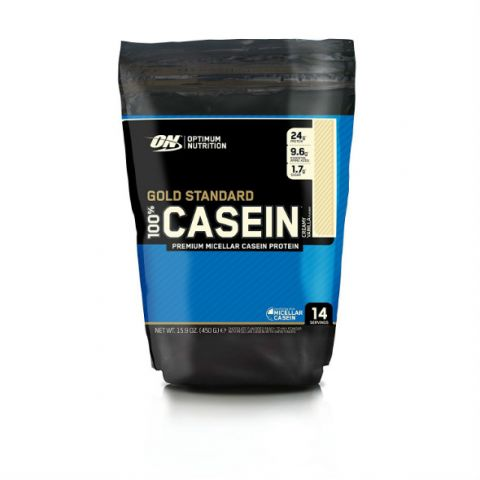 Gold Standard 100% Casein® Optimum Nutrition - 450 gr