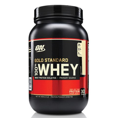 100% Whey Gold Standard Optimum Nutrition - 900 gr