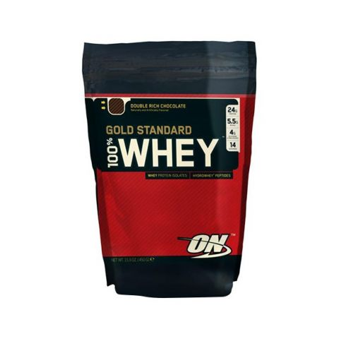 100% Whey Gold Standard® Optimum Nutrition - 450 gr Chocolat