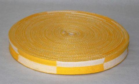 Rouleau de ceinture de Karaté bicolore Fuji Mae - 50 mètres