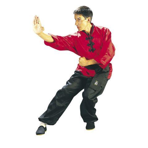 Tenue de Kung Fu Fuji Mae - Rouge/Noire