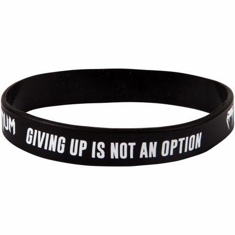 Bracelet en silicone Venum Giving up - Noir