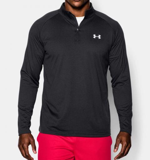T-shirt à Manches longues Under Armour Tech™ avec 1/4 zip