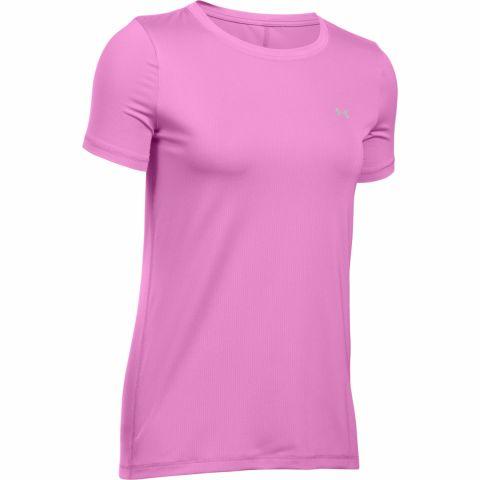 T-shirt Femme Under Armour Heatgear Armour - Rose