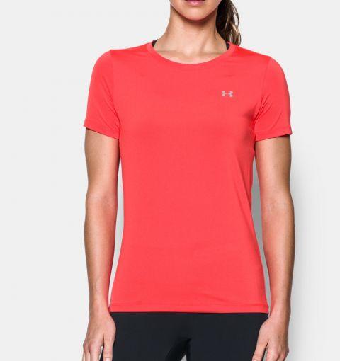 T-shirt Femme Under Armour Heatgear® Armour - Rouge
