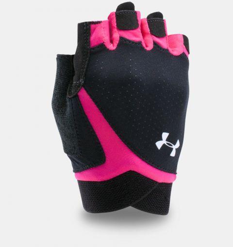 Gants d'entraînement Under Armour CoolSwitch Flux - Femme - Noir/Rose