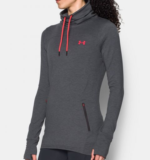 Sweatshirt Femme Under Armour Featherweight - Gris