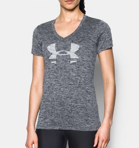 T-shirt Col V Femme Under Armour A Tech™ Graphic