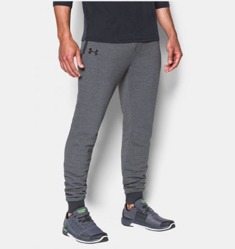 Pantalon de jogging Under Armour Threadborne Stacked - Gris