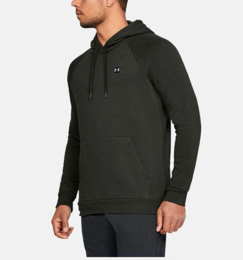 Sweatshirt Under Armour Rival Fleece Po - Vert