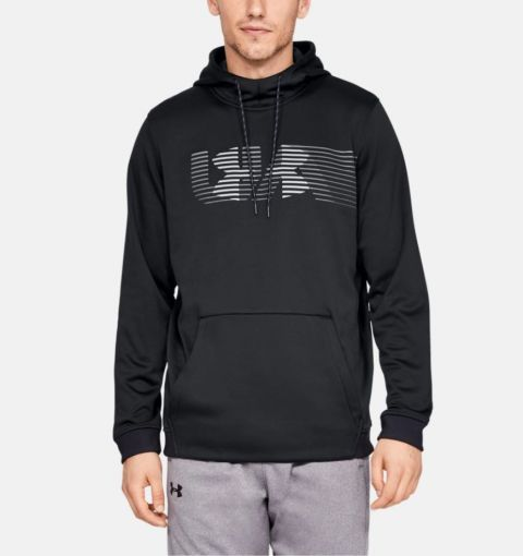 Sweat à capuche Under Armour Rival Fleece Spectrum - Noir
