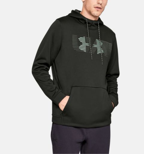 Sweat à capuche Under Armour Rival Fleece Spectrum - Vert