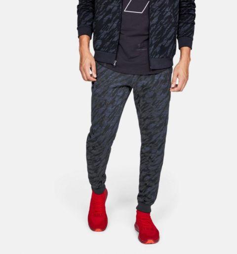 Pantalon de jogging Under Armour Rival Fleece Camo - Noir