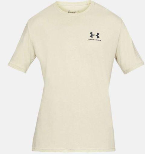 T-shirt Under Armour Sportstyle Left Chest - Kaki