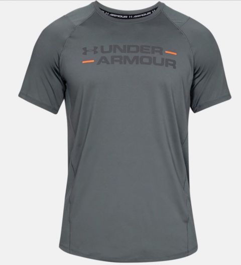 T-shirt Under Armour MK1 Wordmark - Gris