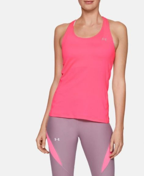 Débardeur Femme Under Armour Racer - Rose