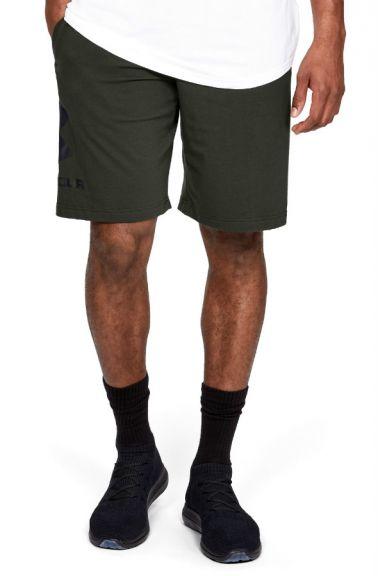 Short Coton Under Armour Sportstyle Graphic - Vert