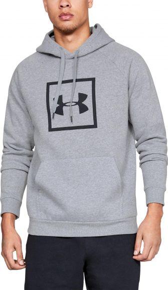 Sweat à capuche Under Armour Rival Fleece Logo - Gris