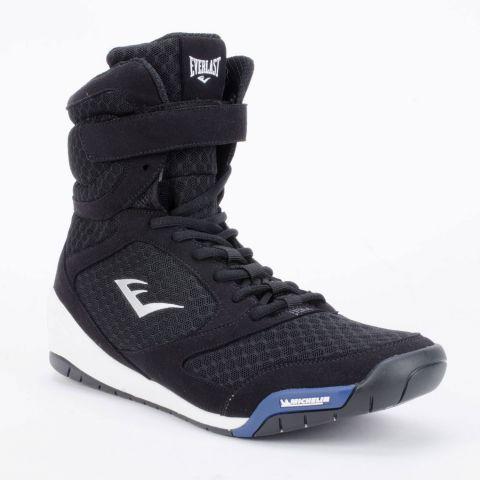 Chaussures de boxe hautes Everlast Elite - Noir