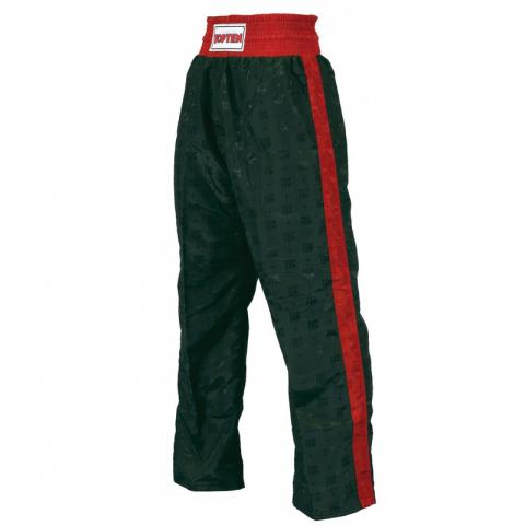 Pantalon de boxe américaine Top Ten Classic - Noir/Rouge