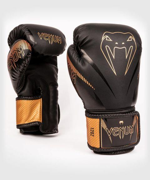 Gants de boxe Venum Impact - Noir/Bronze