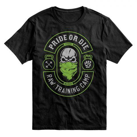 T-Shirt Pride or Die RTC 2 - Noir