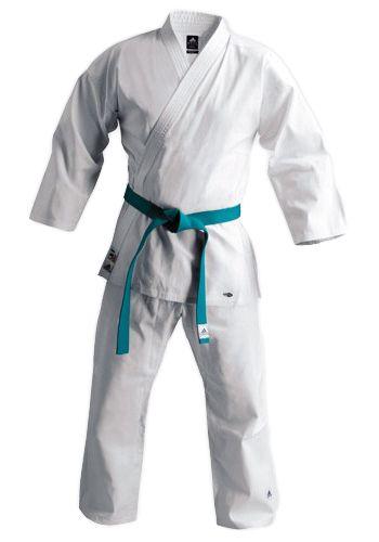 "Kimono de Karaté Adidas 220 ""Club"" - Blanc"