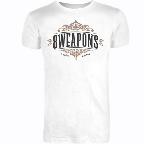 T-shirt 8 Weapons Majestic - Blanc