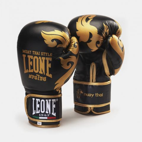 Gants de Muay Thai Leone - Noir