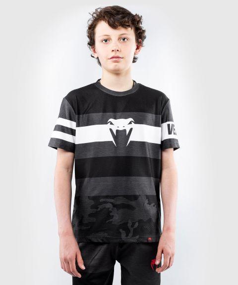 T-shirt Dry Tech Venum Bandit - pour enfants – Noir/Gris