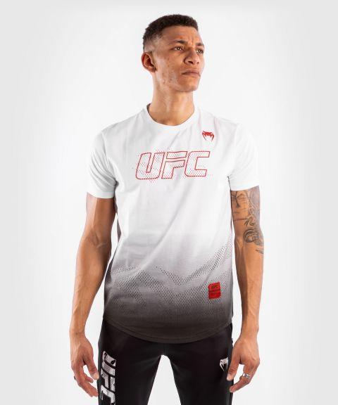 T-shirt Manches Courtes en Coton Homme UFC Venum Authentic Fight Week - Blanc