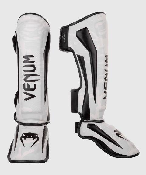 Protège-tibias Venum Elite - Blanc/Camo