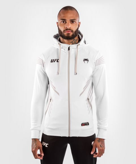 Sweatshirt à Capuche Homme UFC Venum Authentic Fight Night - Blanc