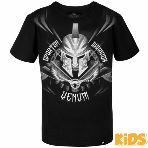 T-shirt Enfant Venum Gladiator - Noir/Blanc