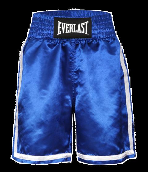 Short de Boxe Everlast Competition - Bleu/Blanc