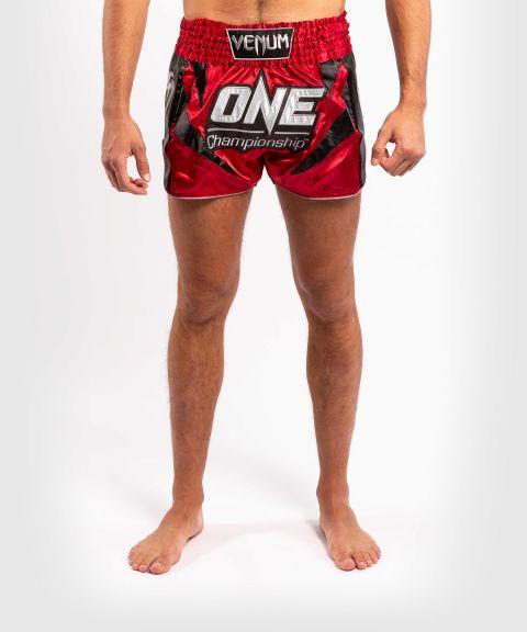Shorts de muay thai Venum x ONE FC - Rouge