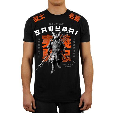 T-shirt Wicked One Samurai - Noir