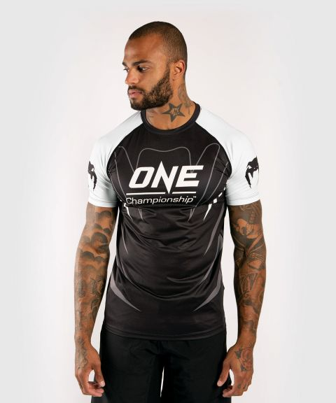 T-shirt Dry Tech Venum x ONE FC - Blanc/Noir