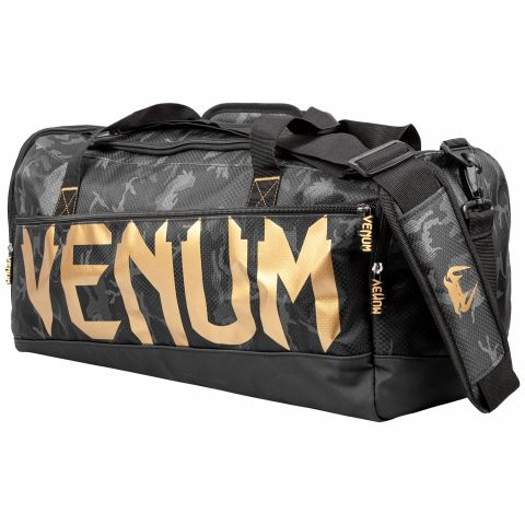 Sac de sport Venum Sparring - Dark Camo/Or