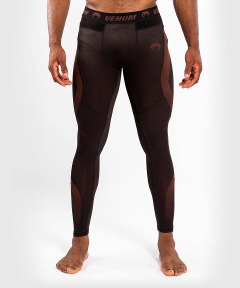 Pantalon de Compression Venum NoGi 3.0 - Noir/Marron